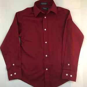 Boys long sleeve button down dress shirt...